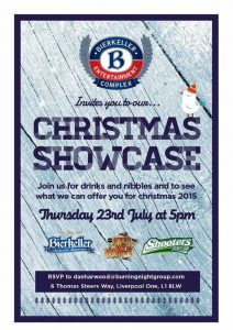 Bierkeller Christmas Showcase